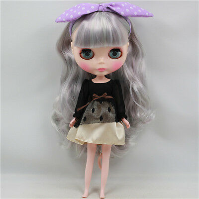 Takara 12'' Blythe Doll Neo Doll Four Colorful Eye Chips From Factory For Custom