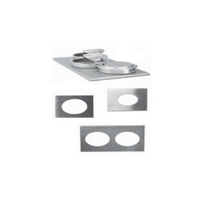 Nemco Adapter Plate for 4/3-Size Warmer Size 4 Holes, Each for 4-Qt. Inset