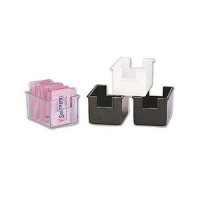 Winware by Winco Adcraft Sugar Packet Holder, Plastic Color Black