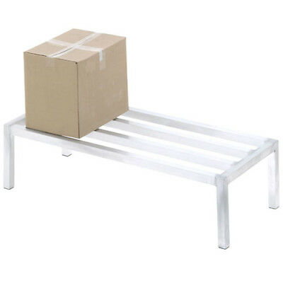 "Channel Aluminum Dunnage Rack 12"" High"
