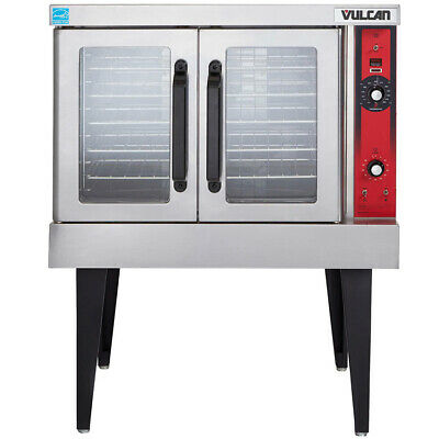 Vulcan VC4GD Single Deck Nat. Gas Convection Oven, Solid State Controls