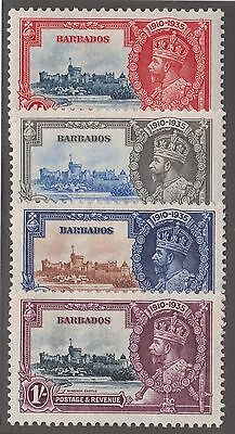 Barbados #186-#189 Mint Set