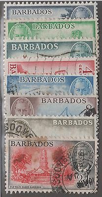 Barbados #216-#223 Mint & Used Set