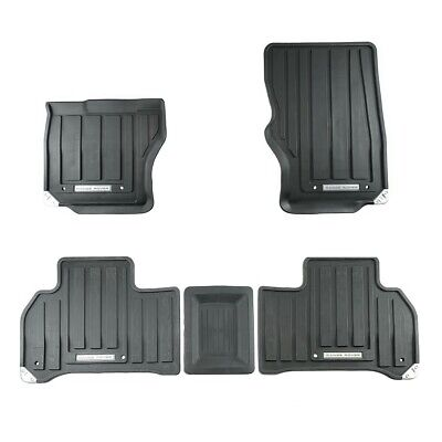 2014-2018 Range Rover Sport LHD All Weather Rubber Floor Mats Set Genuine New