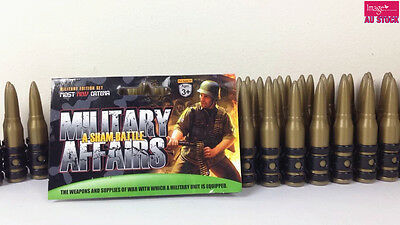 NEW Kids Toys Military Edition Set Bullet Belt Toy Guns Kids Camo Role Play 9516