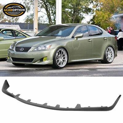Fits 06-08 Lexus IS250 IS350 OE Style PU Front Bumper Lip Spoiler Poly Urethane