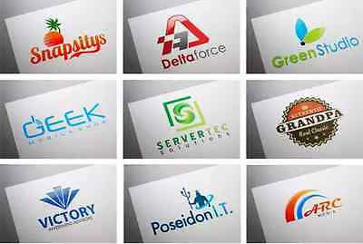 Professional Custom Graphic Logo Design -Vector File- Unlimited Revisions