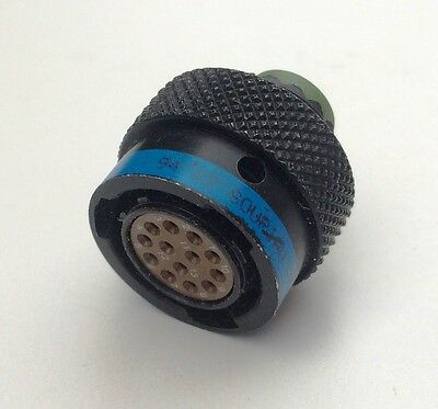 Souriau blue 13 pin female in-line Autsport twist wiring loom plug 8TR-10R35SN