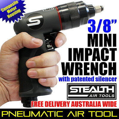 """STEALTH 3/8"""" Composite Mini Impact Wrench PIA 253P-41 Pneumatic Air Tools Sale"""
