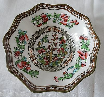 COALPORT INDIAN TREE England  Vintage  Scalloped Soup Cereal Bowl 6  1/2""