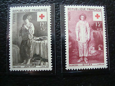 FRANCE - timbre yvert et tellier n° 1089 1090 n** (A23) stamp french