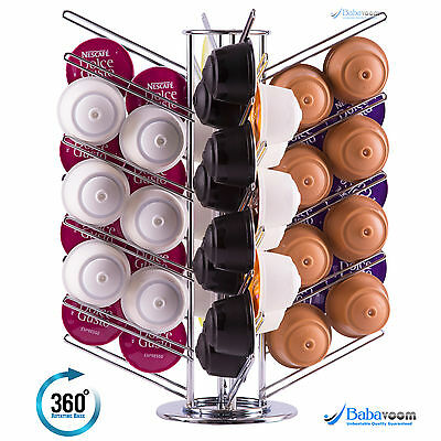 Dolce Gusto coffee pod holder revolving stand STORES 56 CAPSULES | Free Postage