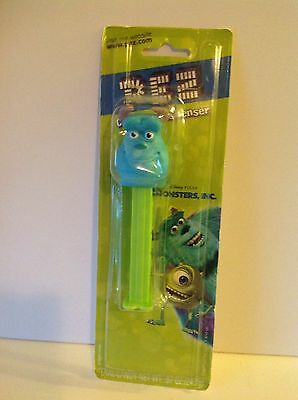 "Brand New In Package ""monsters, Inc."" Sully Pez Dispenser Without Pez Candy"