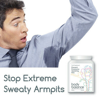 Body Balance Prevent Excessive Sweating Gel Clammy Hands Sweat Face Armpit