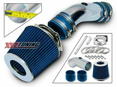 BLUE Short Ram Air Intake Induction Kit +Filter For 92-95 Grand Marquis 4.6L V8