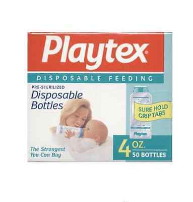Playtex Ultraseal 50 Disposable Bottles - 4oz