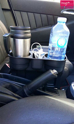 Car Cleanse Drink Cup Holder Travel Stand Seat Table Coffee Bottle AU0024