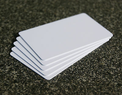 5 x NFC Karte weiß mit MIFARE Classic® Chip - NFC tag ISO card white - 1k