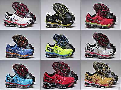 10 Style Choice New Mizuno Wave Prophecy 2 Running Hot Men Shoes US7.5-11.5
