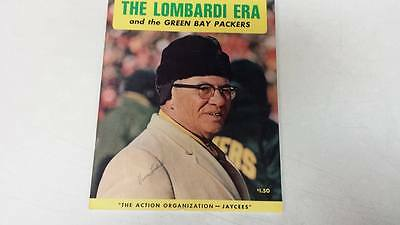 The Lombardi Era Packers Yearbook Signed By Vince Lombardi; Nitschke; & Robinson