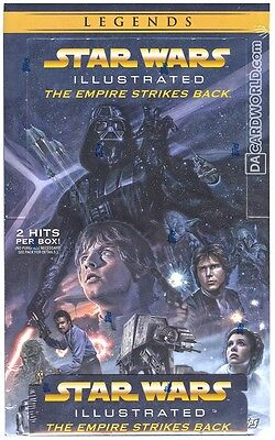 Star Wars Illustrated: The Empire Strikes Back Hobby Box (Topps 2015)
