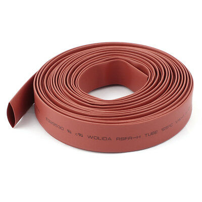 Red 14mm Dia Polyolefin 2:1 Heat Shrink Tubing Wire Wrap Cable Sleeve 10M 33Ft