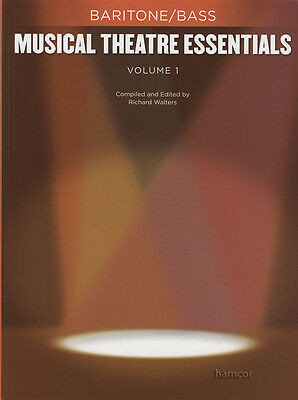 Musical Theatre Essentials Volume 1 Baritone Bass Vocal Sheet Music Book Only