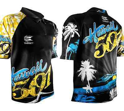 WAYNE MARDLE COOL PLAY DARTS SHIRT - 8 SIZES - TARGET Coolplay Hawaii 501