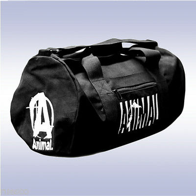 UNIVERSAL NUTRITION ANIMAL GYM BAG (BLACK) from maker of pak stak cuts flex test