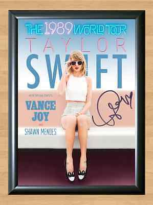 Taylor Swift Speak Now 1989 Signed Autographed A4 Print Poster Photo ticket cd