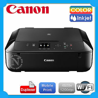 Canon PIXMA MG5760 3-in-1 Wireless Inkjet Printer+Duplex+Mobile Print+AirPrint