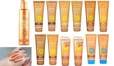 Rimmel London Sun Shimmer Water Resistant Instant Tan Makeup Tube