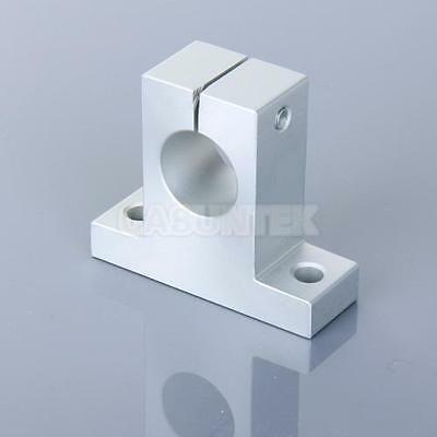 20mm SK20 Aluminium Linear Rail Shaft Support Pillow Block XYZ Table CNC UK