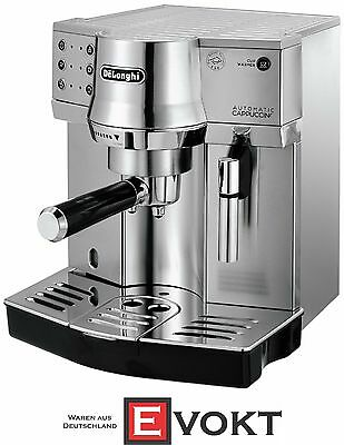 DeLonghi EC 860.M Espresso Coffee Machine Automatic Cappuccino Silver Genuine