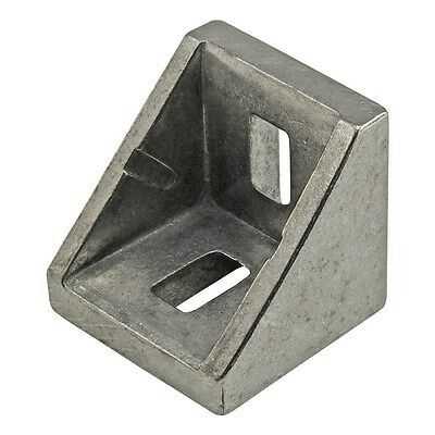 80//20 Inc T-Slot Aluminum 12 Hole Tall Inside Corner Bracket 15 Series #4414 N