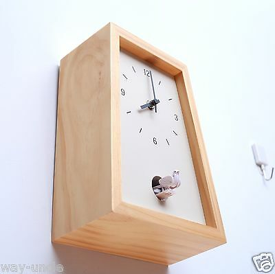 Cuckoo Wall Clock Wooden Timekeeping Country style country decoration