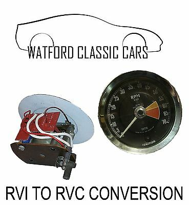 Smiths RVI - RVC Tacho Rev Counter Conversion  Suitable For Electronic Ignition