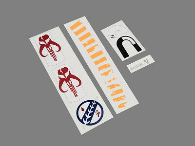 ESB- Boba Fett Chest Shoulder & Helmet Decals Accurate