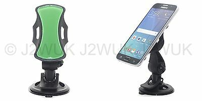 Grip Go All Mobile Phone Hands Free Car Mount WindShield Dashboard GPS Cradle