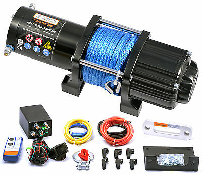 12V Treuil POWERSERIES 5000 EXTREME (2268kg) - Corde synthétique + sans fil