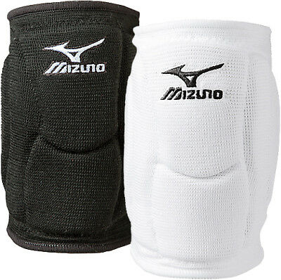 Mizuno Elite 9 SL2 Volleyball Knee Pads - One Pair - White or Black - S, M, L
