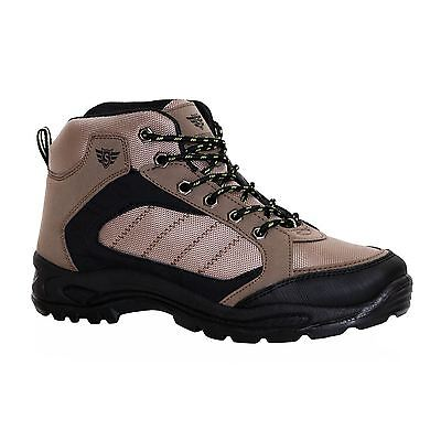 Mens Hiking Outdoor Trail Trekking Camping Hill Walking Boots Footwear Shoes