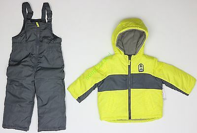 New Boy Carter's Snowsuit Snow Jacket Snow Pants Kids NWT Size sz 9m 12m 3T 5T