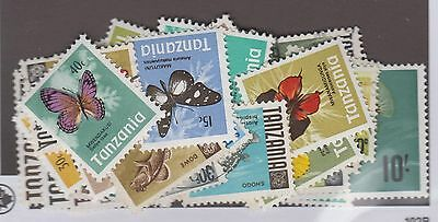 Tanzania Collection Remainder Mint & Used