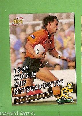 1996 Rugby Union  Card #83 Damian Smith, Wallabies
