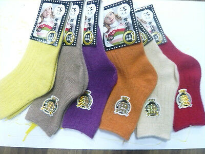 13 Colors Kids Students Winter Warm Thick Wool Ankle Casual Socks 14-22cm