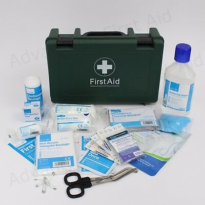 BS-8599-1 Compliant First Aid Kit Box. Lone Worker Van Kit HGV BS8599 Travel Box