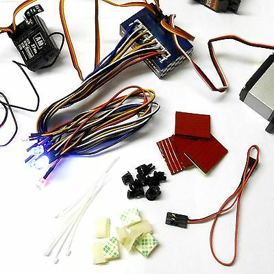 L-003 1/10 Scale Racing Car 12 LED Light Kit Throttle Brake Set