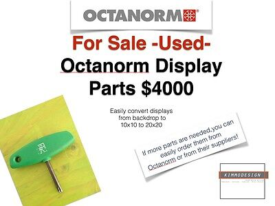 Trade Show Exhibit, Octanorm parts