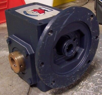 "New Grove Gear Ironman 20:1 Ratio Gear Reducer 1.584 Hp 7/8"" Bore"